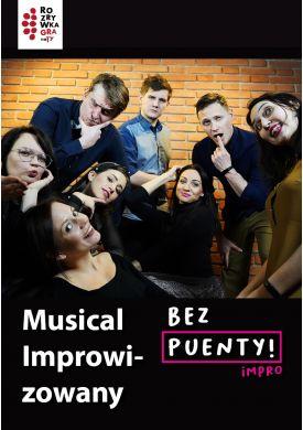 Plakat - Musical Improwizowany