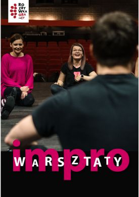 Plakat - Warsztaty Impro