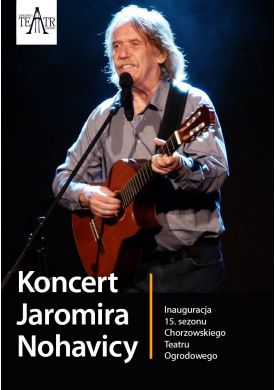 Plakat - Koncert Jaromira Nohavicy
