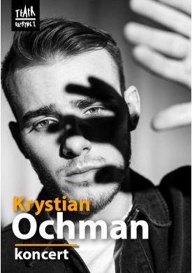 Plakat - Krystian Ochman - Koncert