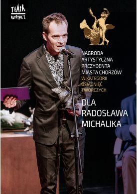 Plakat - Nagroda Artystyczna Prezydenta Miasta Chorzowa