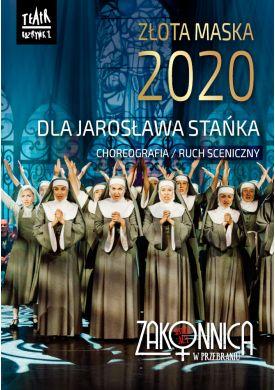 Plakat - Złota Maska dla Jarosława Stańka